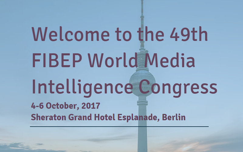 Clip News at the 49th World Media Intelligence Congress of FIBEP in Berlin