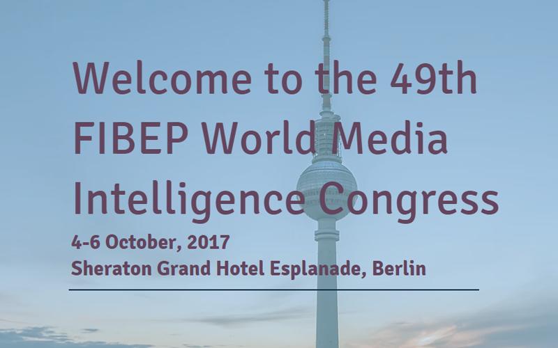 Η Clip News στο 49ο World Media Intelligence Congress της FIBEP στο Βερολίνο